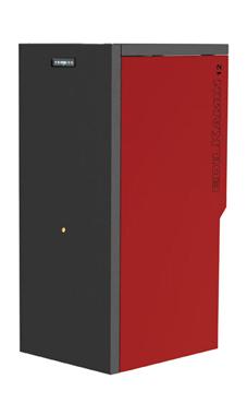 Edilkamin modelo DALLAS 15 Kw caldera de biomasa para pellets