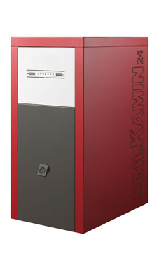 Edilkamin modelo OTTAWA 24 Kw caldera de biomasa para pellets