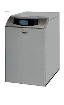 Ferroli modelo ATLAS D30 UNIT de pie de 30 Kw. solo calefacción. Kit combustión estanca opcional caldera de gasóleo tiro natural