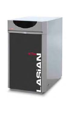Lasian modelo ACTIVA PLUS 30 de pie de 27,2 Kw. mixta kit combustión estanca opcional caldera de gasóleo tiro natural