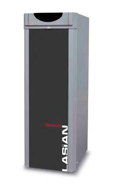 Lasian modelo CLIMATRONIC AV 30 de pie de 27 Kw. mixta depósito inoxidable kit combustión estanca opcional caldera de gasóleo tiro natural