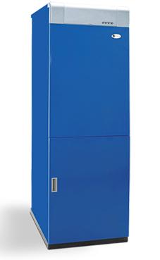 Domusa modelo MCF-50 HDN de 49,7 Kw.,grupo térmico de fundición con acumulador vitrificado de 100 litros.(se puede adaptar a tiro forzado) caldera de gasóleo tiro natural