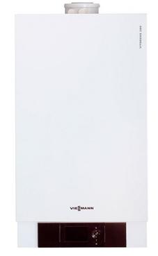 Viessmann modelo VITODENS 200-W WB2C de 26 KW  con Vitotronic 100 modelo HC1B  y kit extrac. caldera gas propano mural estanca condensación solo calefacción