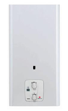 Saunier-duval modelo Opalia C 11 EL calentador de gas natural tiro natural